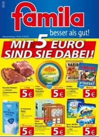 Famila Mit 5 EURO sind Sie dabei September 2012 KW38