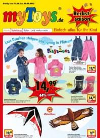 myToys.de Herbstsaison September 2012 KW38