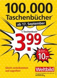 Weltbild 100000 Taschenbücher September 2012 KW38