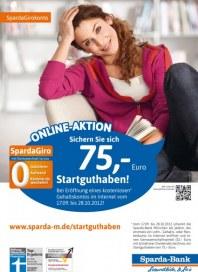 Sparda-Bank München eG Online Aktion September 2012 KW38