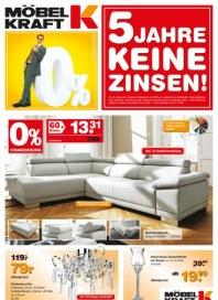 Möbel Kraft 5 Jahre keine Zinsen September 2012 KW38 1