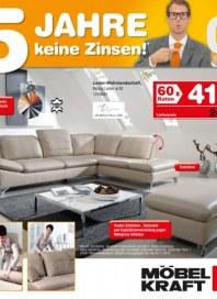 Möbel Kraft 5 Jahre keine Zinsen September 2012 KW38 2