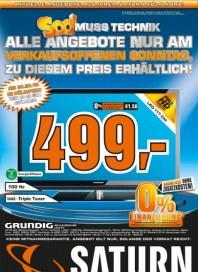 Saturn Alle Angebote nur am verkaufsoffenen Sonntag September 2012 KW39