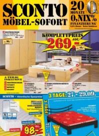 Sconto Schlafen Spezial September 2012 KW39