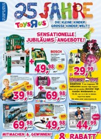Toys'R'us Sensationelle Jubiläums-Angebote September 2012 KW39
