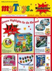 myToys.de Neuheiten Oktober 2012 KW40