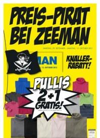 Zeeman Preis-Pirat bei Zeemann September 2012 KW39