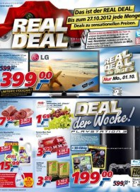 real,- Aktuelle Angebote Oktober 2012 KW40
