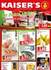 Kaiser's La dolce Vita - italienisch genießen Oktober 2012 KW40 1