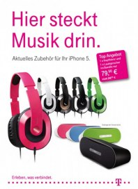 Telekom Shop Hier steckt Musik drin September 2012 KW39