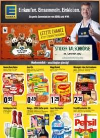 Edeka Markenvielfalt - unschlagbar günstig Oktober 2012 KW40