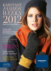 KARSTADT Fashion Herbst September 2012 KW39