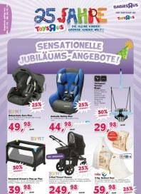 Toys'R'us Sensationelle Jubiläums-Angebote Oktober 2012 KW40