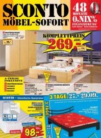 Sconto Schlafen Spezial September 2012 KW39 1