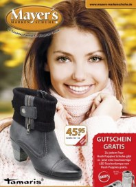 Mayer's Markenschuhe Monatsflyer Oktober 2012 KW41