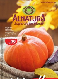 Alnatura Hauptflyer Oktober 2012 KW40