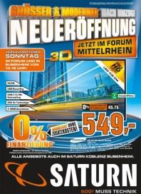 Saturn Größer & Moderner nach Umzug! NEUERÖFFNUNG Oktober 2012 KW40
