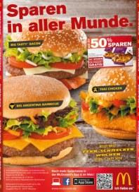 McDonald's 50% Sparen Oktober 2012 KW40
