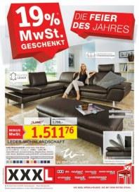 XXXL Mehrwertsteuer geschenk Oktober 2012 KW40