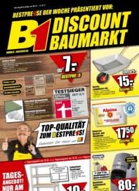B1 Discount Baumarkt Hauptflyer Oktober 2012 KW40