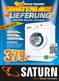 Saturn Soo! Muss Technik - Kostenlose Lieferung Oktober 2012 KW41