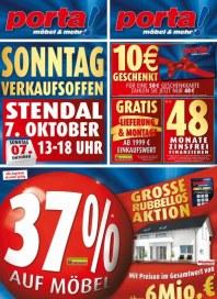Porta 37% auf Möbel Oktober 2012 KW40