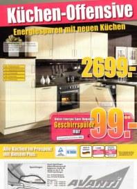 Avanti Möbel - Mitnahmemarkt Küchen-Offensive Oktober 2012 KW40