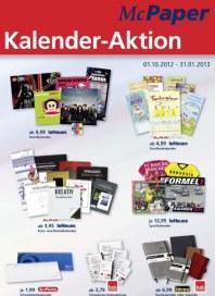McPaper Kalender-Aktion Oktober 2012 KW40