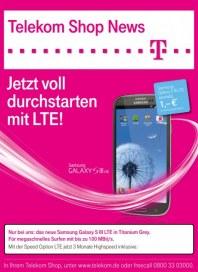 Telekom Shop Telekom Shop News Oktober 2012 KW41