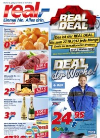 real,- Real Deal Oktober 2012 KW42