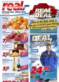 real,- Real Deal Oktober 2012 KW42