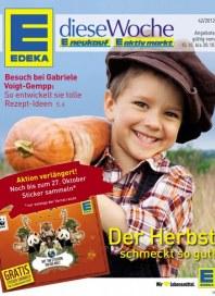 Edeka Der Herbst schmeckt so gut Oktober 2012 KW42