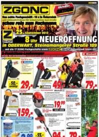 ZGONC Handel GmbH ZGONC Angebote bis 27.10.2012 Oktober 2012 KW42