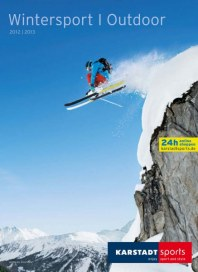 Karstadt Sports Wintersport | Outdoor Oktober 2012 KW42
