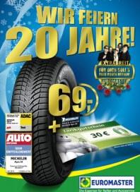 Euromaster Wir feiern 20 Jahre Oktober 2012 KW42
