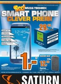 Saturn Soo! Muss Technik Smart Phone Clever Preis Oktober 2012 KW42