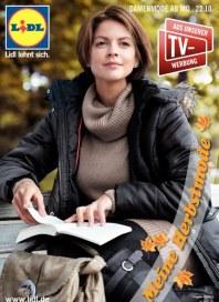 Lidl Meine Herbstmode Oktober 2012 KW43