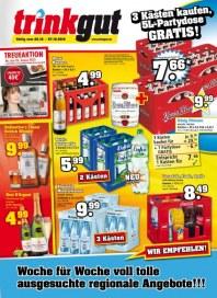 trinkgut 3 Kästen kaufen, 5L Partydose GRATIS Oktober 2012 KW43