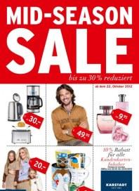 KARSTADT Mid-Season Sale Oktober 2012 KW43