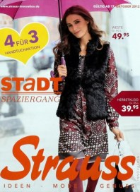 Strauss Innovation Ideen, Mode, Genuss Oktober 2012 KW42 1