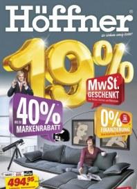 Höffner 19 Prozent Oktober 2012 KW42
