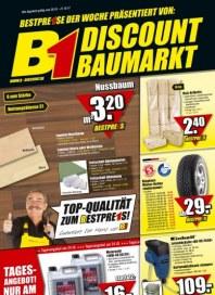 B1 Discount Baumarkt Aktuelle Angebote Oktober 2012 KW42