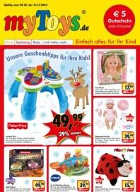 myToys.de Unsere Geschenktipps für Ihre Kids Oktober 2012 KW44