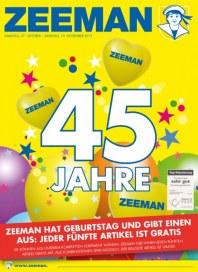 Zeeman 45 Jahre Zeeman Oktober 2012 KW43