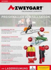 Zweygart Preisknaller zur Fällsaison Oktober 2012 KW43