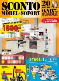 Sconto Wohnen Spezial Oktober 2012 KW43