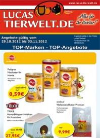 Lucas Tierwelt TOP-Marken - TOP-Angebote Oktober 2012 KW44 2