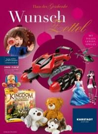 KARSTADT Spielwaren Wunschzettel Oktober 2012 KW43