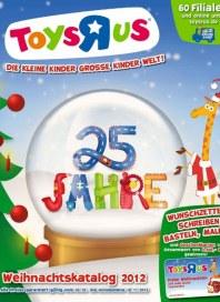 Toys'R'us Weihnachtskatalog Oktober 2012 KW43 1