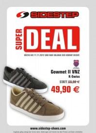 Sidestep Super Deal Oktober 2012 KW44 3